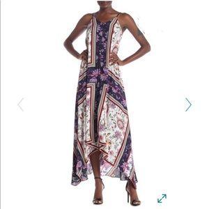 Nanette Lepore Sleeveless V-Neck Maxi Dress